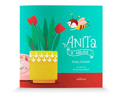 [livro] Anita, a abelha