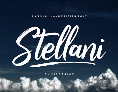 Stellani // a Casual Handwritting Font