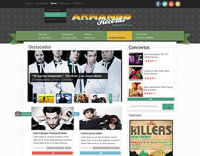 Armando Records 2013 Proposal
