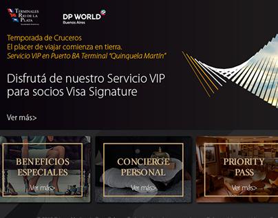Web Visa Signature