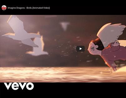 Background Design for Imagine Dragons Video