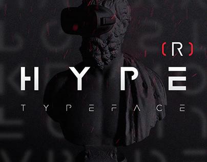 HYPE(R) Strong Modern Font