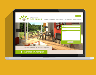 Site WordPress Résidence Les Saules