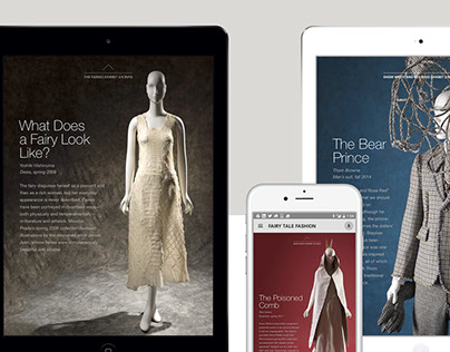 Faculty: Fairy Tale Fashion App Design