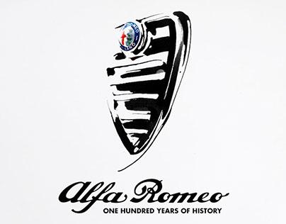 Alfa Romeo Official Art Posters