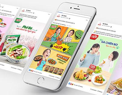 Aji-quick   on SOCIAL MEDIA   Food and Beverage