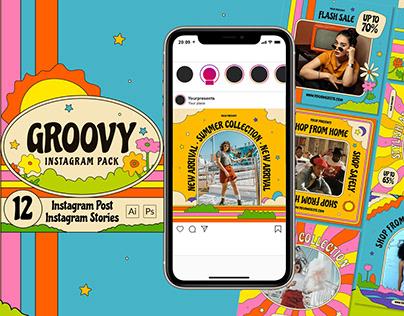 Groovy Instagram Pack