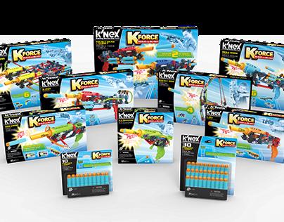 Package Design K'NEX K-FORCE