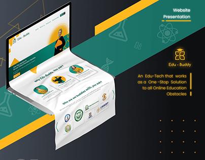 Edu-Buddy - Website Presentation