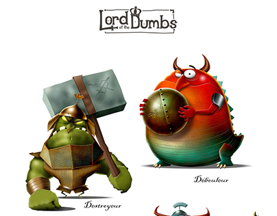 Character Design_Dumbs_03