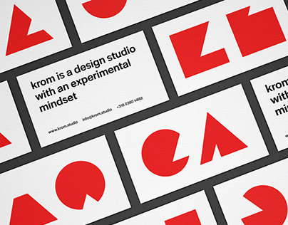 Krom Branding | A generative visual identity