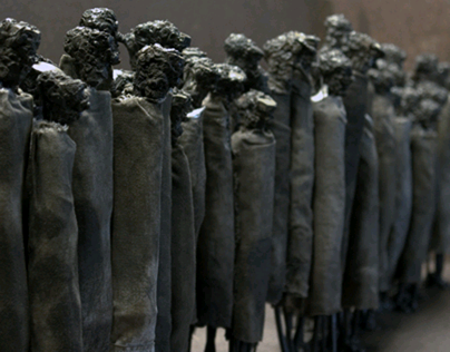The Johan P. Jonsson mixed media & metal sculpture