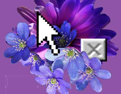Postinternet digital collages from 2016