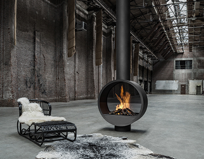 Boley Open Fire Places B.Black Collection