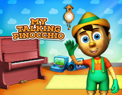 My Talking Pinocchio - Virtual Pet Game