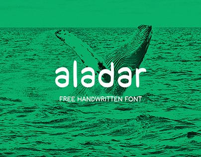 aladar (free handwritten font)