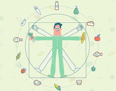 Danone & Rybakov Fond: Balanced nutrition movie