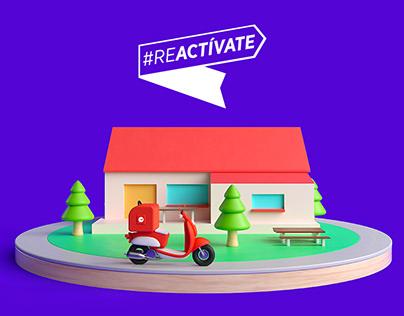 #Reactívate
