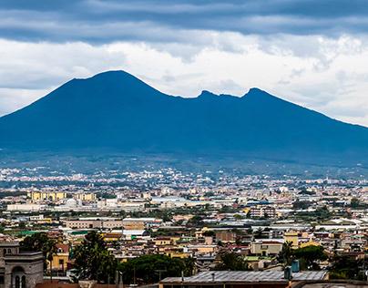 Panoramic Mt. Vesuvius