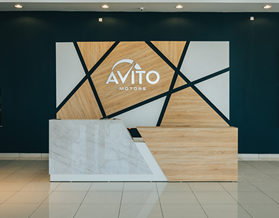 AVITO MOTORS - Branding & Interior Design