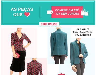 Madame Recicla • Email Marketing - Peças Que Amamos