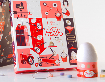 Hatch Egg Coloring Kit