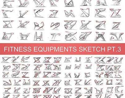 Fitness Equipments Sketch Pt.3