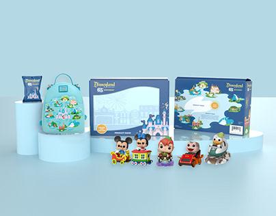 Disneyland 65th Anniversary Packaging
