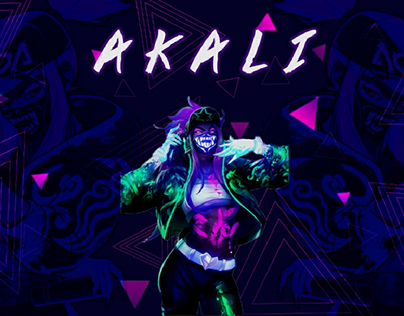 Kda Akali Projects Photos Videos Logos Illustrations And Branding On Behance