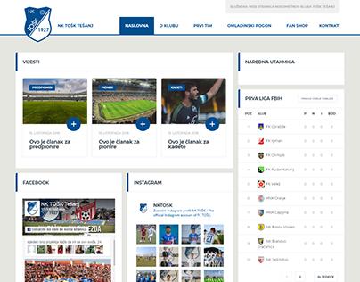 Football Club - WordPress