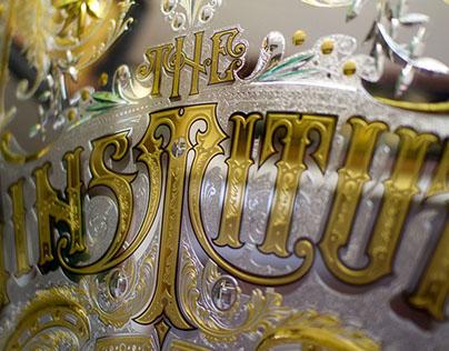 Ornamental cut glass