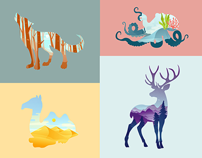 Habitat Illustrations