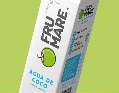 Coconut Water Frumare - Packaging and Branding