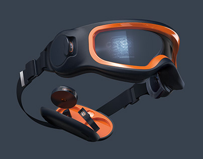 MODULAR _Smart industrial safety goggle