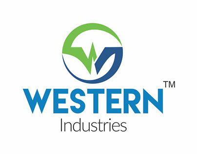 Logo design western industries