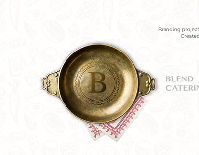 Blend Catering | Branding