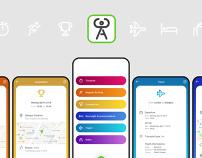 Athlete Central — Mobile app