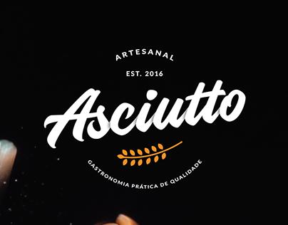 Asciutto - Projeto de TCC - Design Gráfico