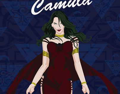 Camula Yugioh Vampire Misstress