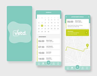 Vetd | Veterinarian Companion App