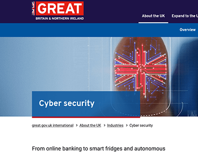 Cyber Security | GREAT.GOV.UK | 2021