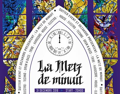 Affiche - La Metz de minuit