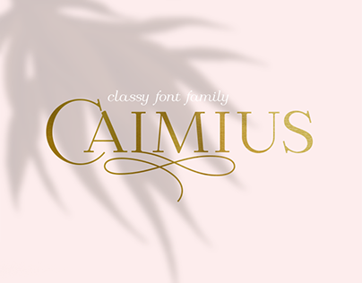 Calmius font family