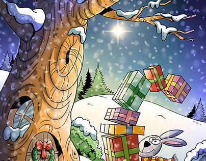 Christmas winter illustration (PF2018)