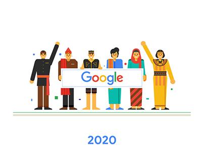 Google Indonesia Calendar 2020