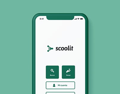Scoolit app (branding and UI)