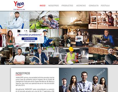 Financiera: La Yapa - WEB