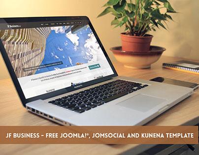 JF Business - FREE Joomla, JomSocial & Kunena Template