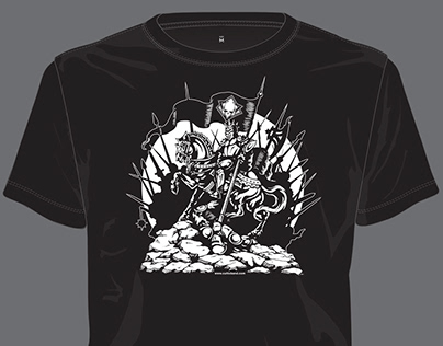 Conqueror T-Shirt Illustration