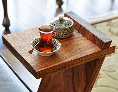Handmade Pelican Trestle / Coffee Table
